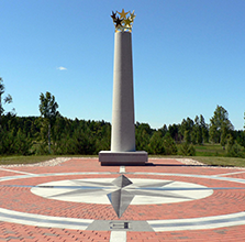 Geographical Center of Europe is in Lithuania